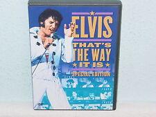 "*DVD-ELVIS PRESLEY""THAT'S THE WAY IT IS (Special Edition)""-2001 Warner NEU/OVP*"