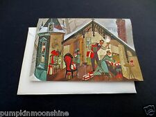 "Unused Hallmark Xmas Greeting Card ""Hiding the Presents"" by Barbara Cooney"
