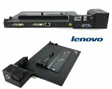 Lot of 2 Lenovo Thinkpad mini dock plus series 3 4338 USB 3.0 docking stations