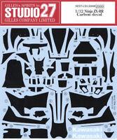 STUDIO 27 Kawasaki Ninja ZX-RR Carbon Decal 1/12