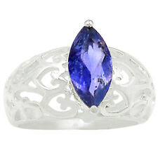 SSS 1.8cts Iolite 925 Sterling Silver Ring Jewelry s.8 R5151I-8