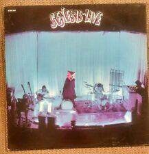 Genesis Live LP~Musical Box ~The Knife~Peter Gabriel Charisma French Press Prog