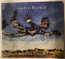 Andru Branch 'The Only Constant' CD (2007) Reggae Brand New Sealed - Rare!