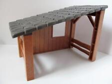 Playmobil Granja/establos/ZOO/bosque: pequeño animal Shelter/Madera Tienda NUEVO