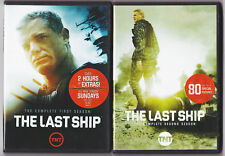 THE LAST SHIP SEASON 1 & 2 DVD TV SERIES NEW! MANY XTRAS! (2,3 DISC SETS)