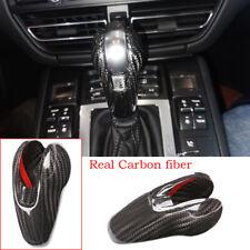 Carbon Fiber Gear Shift Knob Trim For Porsche Macan 2014-20 Cayman 09-16 911/718