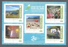 Isle of Man-Island Year 2018 mnh set(issue date 10.04.2018)self-adhesive