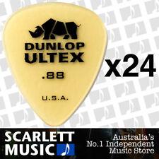 24 x Jim Dunlop Standard Ultex .88mm Picks Plectrums 88-ULT 421R *24 PICKS*