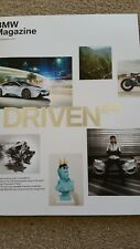 Official BMW Magazine Driven 4  Brand New Unread Spring Summer 2014
