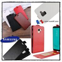 Etui housse coque Clapet Cuir PU Leather Case Wallet Samsung Galaxy J6 (2018)