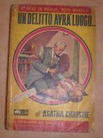 AGATHA CHRISTIE - UN DELITTO AVRA LUOGO - 1955 MONDADORI (AB)