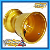 "GO KART MAGNESIUM WHEEL 5"" x 180 MM WIDE LOW VOLUME GOLD BOLT-ON GT MAG RIM"