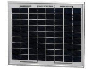 Placa solar fotovoltaica 12V 10W Marco Aluminio Panel solar  se envía de ESPAÑA