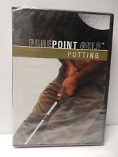 NEW PurePoint Golf Putting DVD Pure Point Bobby Eldridge Instruction Video