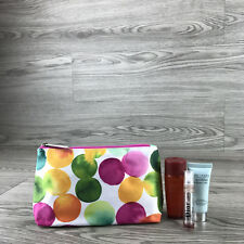 Clinique Multi-Coloured Makeup Cosmetics Bag, Brand New!