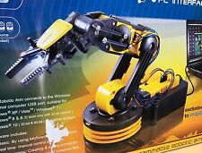 Robotic Arm Kit With USB PC Interface Construct Precision Educational Toy