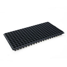 """5PCS 200 Cells Plastic Nursery Tray Seed Tray Easy-Out Seed Sowing Flats 21""""x11"""""""