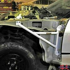FOR 89-94 NISSAN 240SX S13 ULTRA RACING FENDER BRACE CHASSIS FRAME BAR WITH ACC