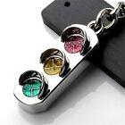 Fashion Mini 3D Traffic Light Car Key Ring Chain Keyfob Keychain Keyring Gift MO