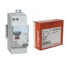 Interrupteur differentiel 40A 30ma Type AC AUTO legrand 411632 neuf destockage