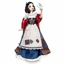 "NEW! DISNEY STORE SNOW WHITE 17"" DOLL LIMITED EDITION 4000 EVIL QUEEN! IN HAND"