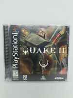 Quake II (Sony PlayStation 1, 1999) Tested Complete.