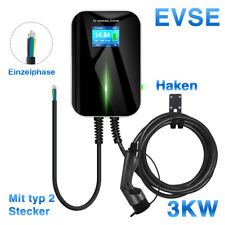32Amp Level 2 EV Home Charging station 220V Electric Vehicle Charger Type 2 16A