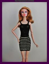 "Clothes for Fashion Royalty / FR2 / Barbie /  Poppy Parker /  12 "" dolls : dress"