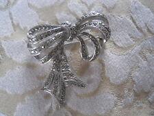 Marcasite Brooch/Pin Retro Costume Jewellery (1940s)