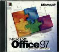 Microsoft MS Office 97 Developer Edition Tools Only, NEW Unused, RARE Collectors