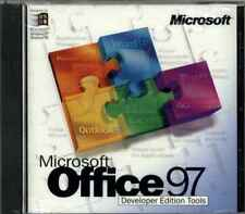 Microsoft MS Office 97 Developer Edition Tools Only, NEW Unused RARE Collectors
