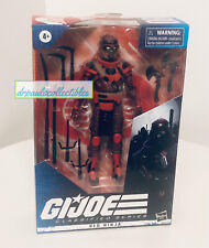 "GI Joe Classified Series #08 RED NINJA 6"" Figure  Brand New Hasbro 2020"