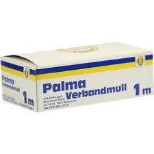PALMA Verbandmull 80 cm 1 m zickzack Lagen 1 St