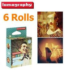 Lomography LOMO 120 Negative Film (ISO 50-200 Redscale) for Diana+Plus x 6 rolls