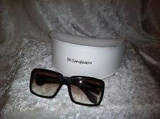 Yves Saint Laurent YSL6110 Sunglasses Gradient Lenses W/case (Great Buy)