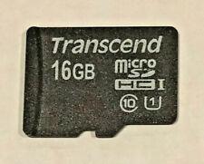 16GB Transcend microSD High Capacity (microSDHC) Card