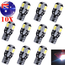 10X CANBUS T10 12V W5W 7020 COOL WHITE LED CAR TAIL SIDE LIGHTS TURN PARK BULBS