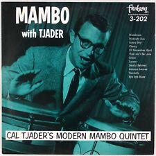 CAL TJADER: Mambo With Tjader US Latin Jazz Fantasy Red Vinyl OJC LP