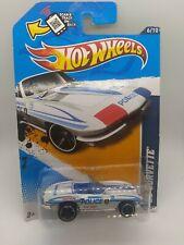 2012 Hot Wheels '65 Corvette Police #166 HW City