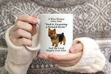 Funny Norwich Terrier Gifts For Women A Wise Woman Once Said Coffee Mug 11oz