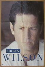 Brian Wilson s/t 1988 Original Us Promo Poster Minty! Beach Boys
