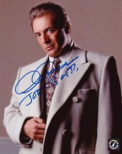 "Armand Assante ""John Gotti"" Autographed GOTTI Mafia 8x10 Photo ASI Proof"