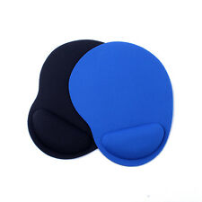 1pc Soft Comfy Bracers Anti-Slip Mouse Pad Soft Wrist Rest Gaming Mouse Mat Blue
