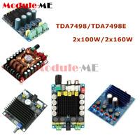 TDA7498/TDA7498E 2x100W/2x160W Class D HIFI Digital Audio Stereo Amplifier Board