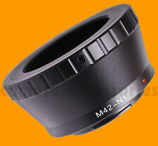 any M42 lens lenses to Nikon-1 AW1 S1 J3 V1 J1 J2 V2 camera mount adapter ring