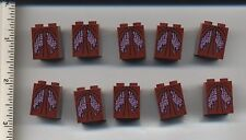 LEGO x10 Dark Red Slope 65 2 x 2 x 2 with Bottom Tube Dress Lord Vampyre's Bride