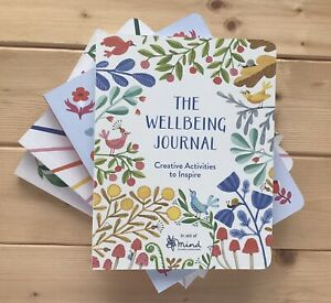 THE WELLBEING JOURNAL NOTEBOOK MINDFULNESS AND MENTAL HEALTH - MIND CHARITY
