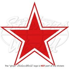 RUSSIA Russian Air Force USSR Soviet Type3 Red Star Roundel 100mm Sticker Decal