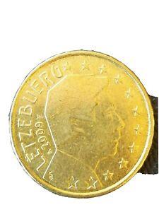 LUSSEMBURGO LUXEMBOURG LETZEBUERG 20 euro CENT  2009 circolate