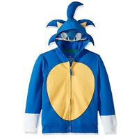 Boys Girls Sonic The Hedgehog Costume Coat Hoodie for Little/Big Kids